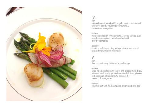 served lunch menus