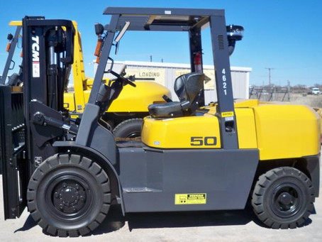 7 Reasons to Buy a Used Forklift