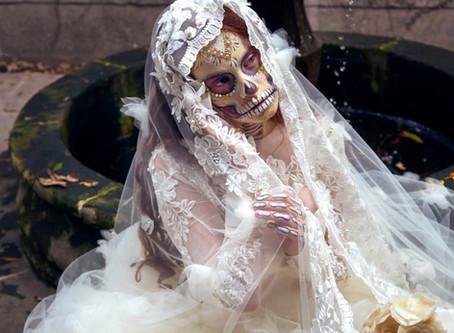 Calaverita de la novia Catrina