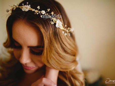 ¿Cómo elegir tu accesorio de novia para el cabello?
