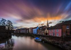 Norwich Quayside Long Exposure