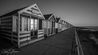 Mono Beachhuts at Southwold