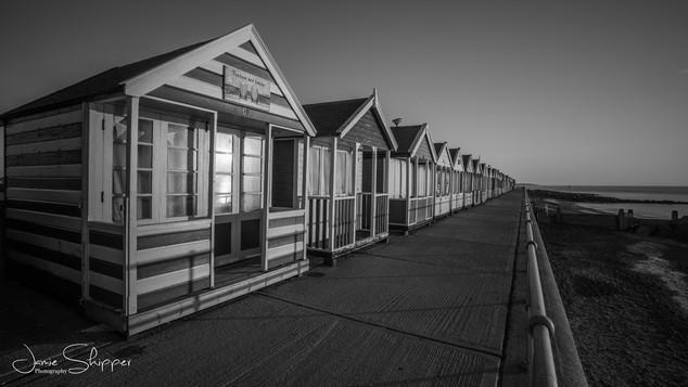 Mono Beachhuts at Southwold