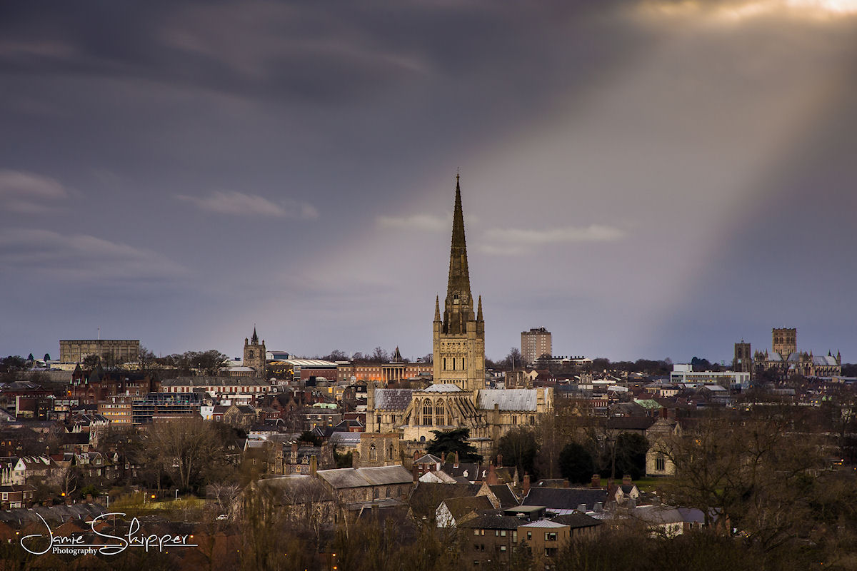 Downlit Norwich