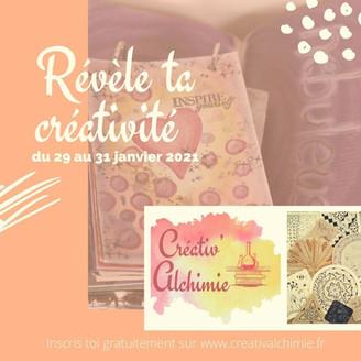 Créativ'Alchimie ★ Révèle ta créativité dans tes carnets