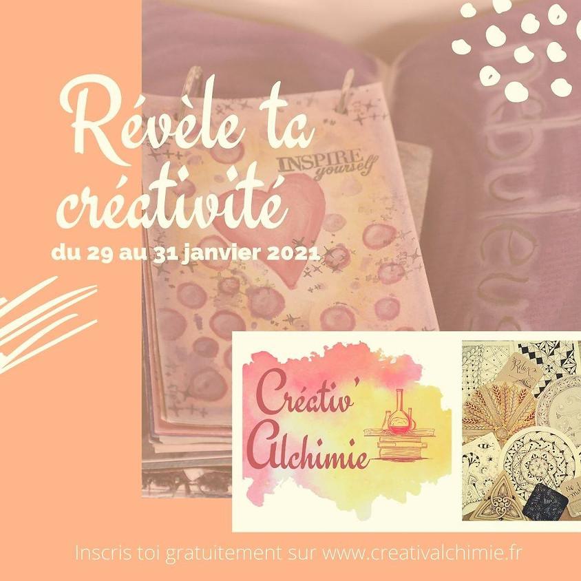 Créativ'Alchimie : révèle ta créativité dans tes carnets