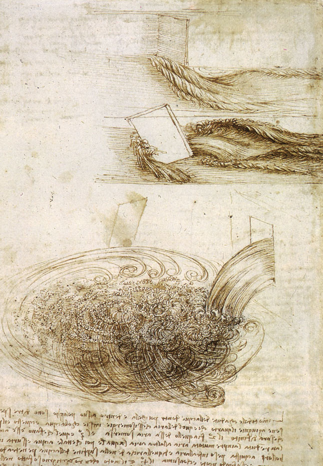 Léonard de Vinci eau tangle floo