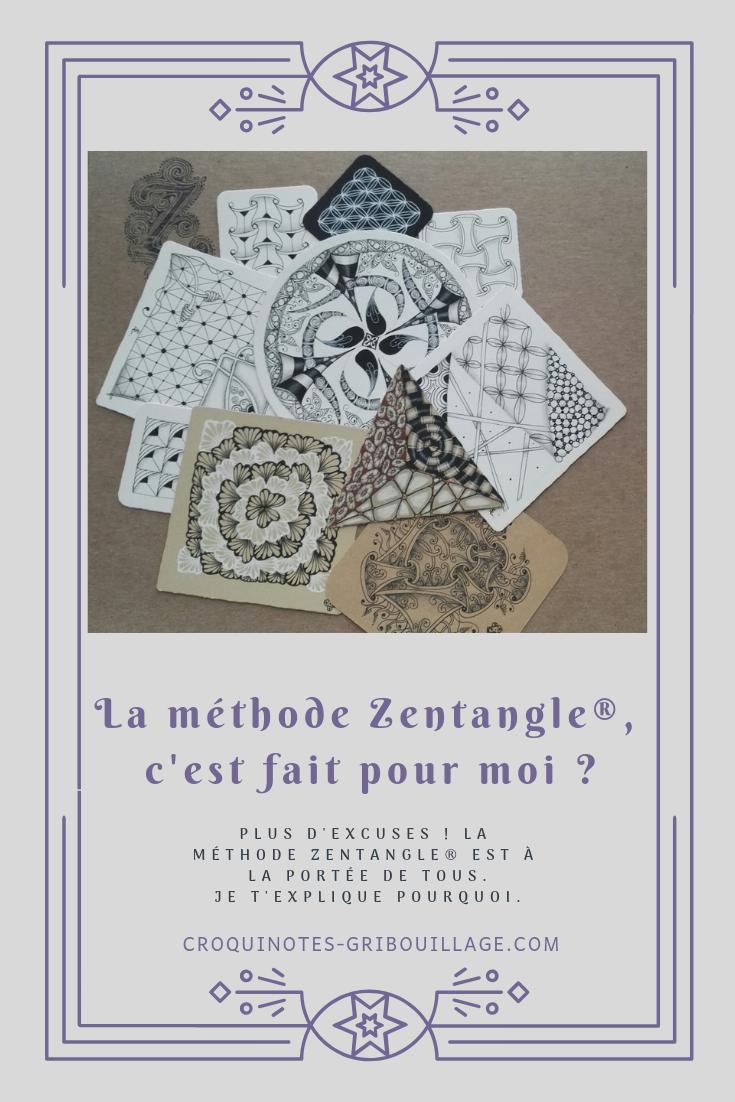La méthode Zentangle, c'est fait pour moi ?