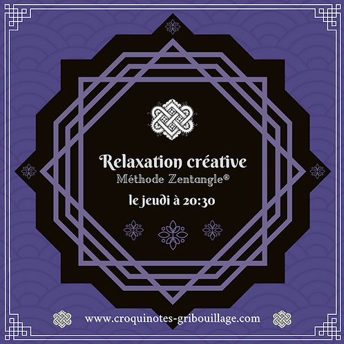 Relaxation créative (1h15)