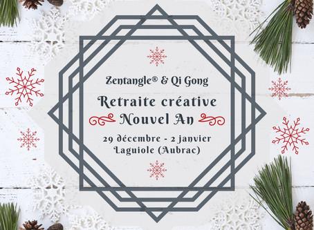Retraite créative du Nouvel An 2021 : Zentangle® & Qi Gong