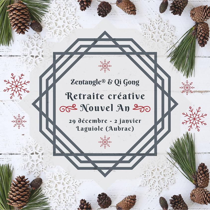 Retraite créative Nouvel An : Zentangle et Qi Gong
