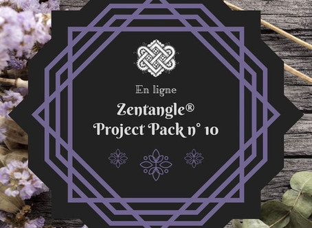 Zentangle Project Pack No. 10 : la légende de Zentangle®