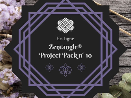 Zentangle Project Pack No. 10 : la légende de Zentangle®