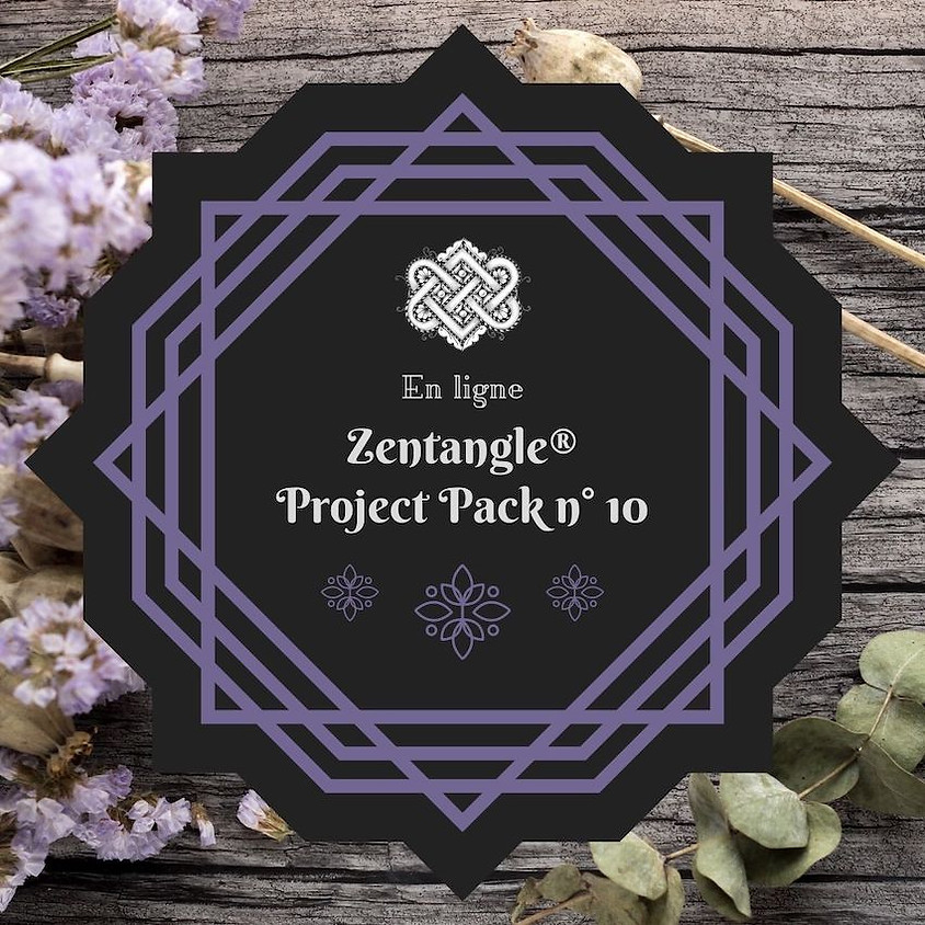Zentangle Project Pack n° 10 ★ Introduction