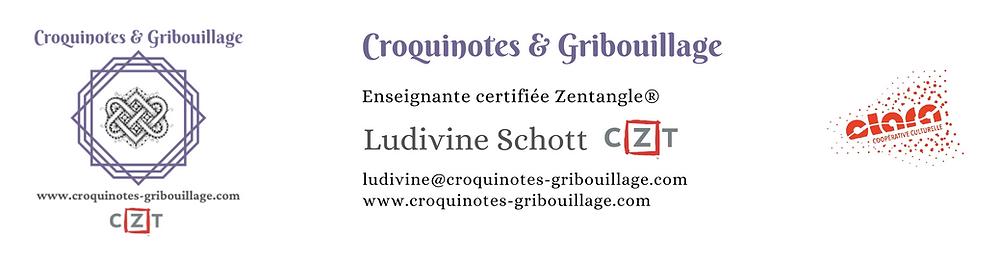 CAE CLARA Ludivine Schott Zentangle