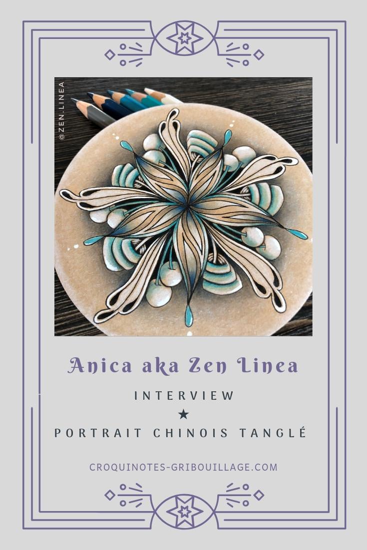 Portrait d'Anica aka Zen Linea