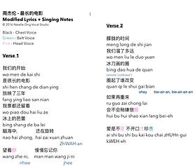modified lyrics - zui chang de dian ying