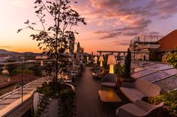 Mystery Hotel Budapest Sunset