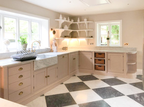 Scullery Sink Run and Shelving