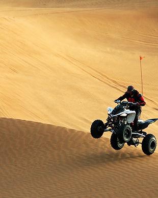 ATV in Sand