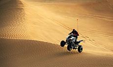 ATV in sabbia