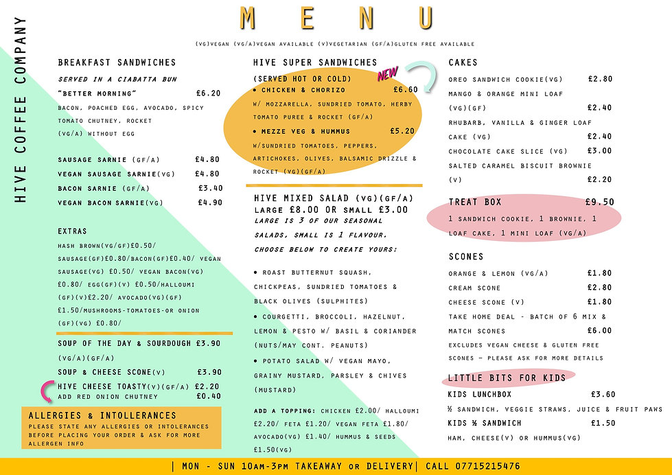 Collection & Delivery Menu 03-09.05.21 p