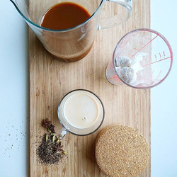 Today we're having a go at brewing our own Chai,  so we can make some lovely spiced Chai Lattes for