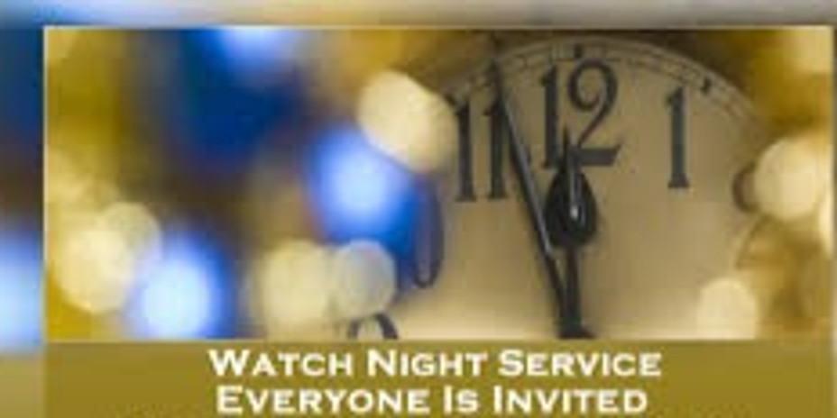 GENESIS BAPTIST CHURCH WATCH NIGHT SERVICE