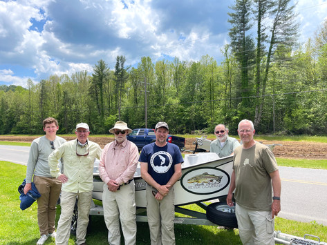 Trout fishing in Northeastern Tennessee