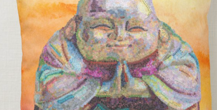 Exoneration Buddha Pillow