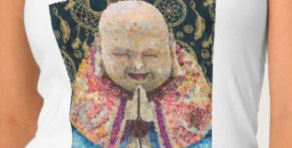 Happy Buddha tank