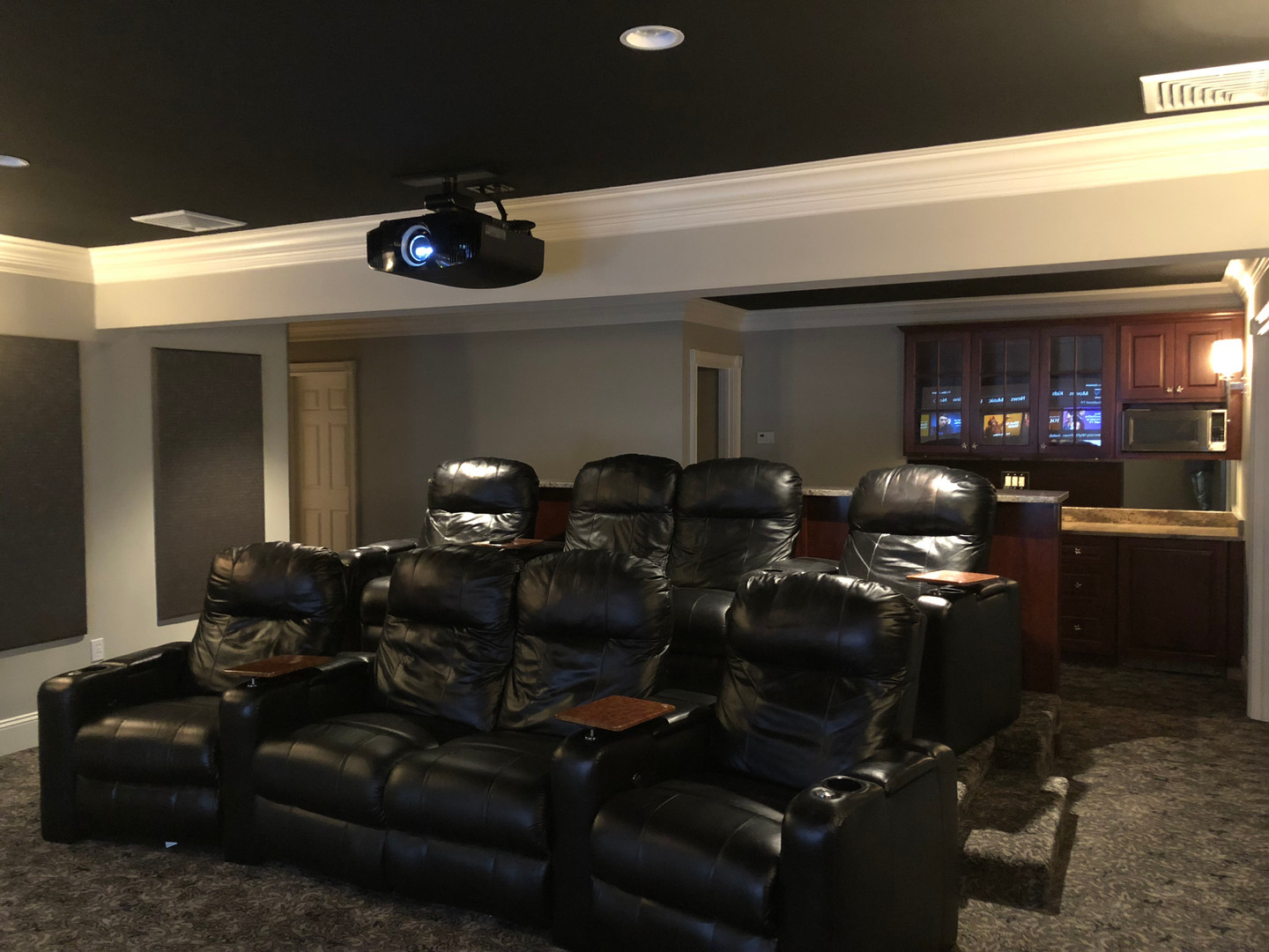 8 Person Home Theater