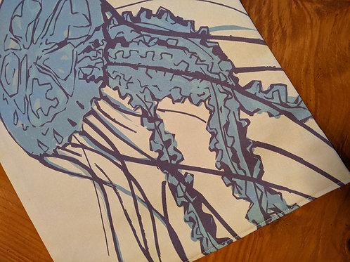 Blue Jellyfish Table Runner