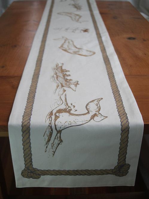 Scrimshaw Long Table Runner