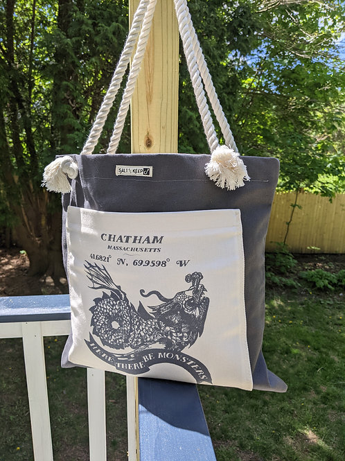 Town Tote - Chatham /Sea Monster