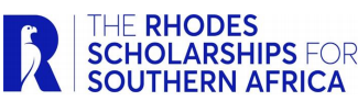 RHODES SCHOLARSHIPS FOR SOUTHERN AFRICA, 2022