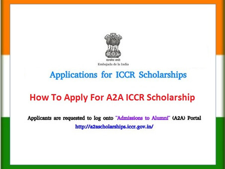 ICCR SCHOLARSHIP SCHEME FOR INDIAN CULTURE