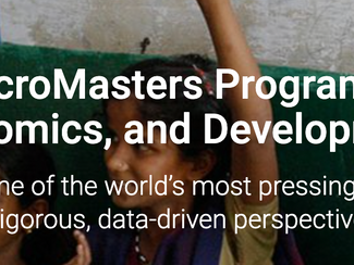 MicroMasters in Data, Economics, and Development Policy (DEDP) Scholarship Program for Government Em