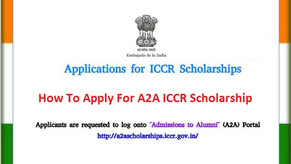 INDIA ICCR SCHOLARSHIP SCHEME FOR INDIAN CULTURE