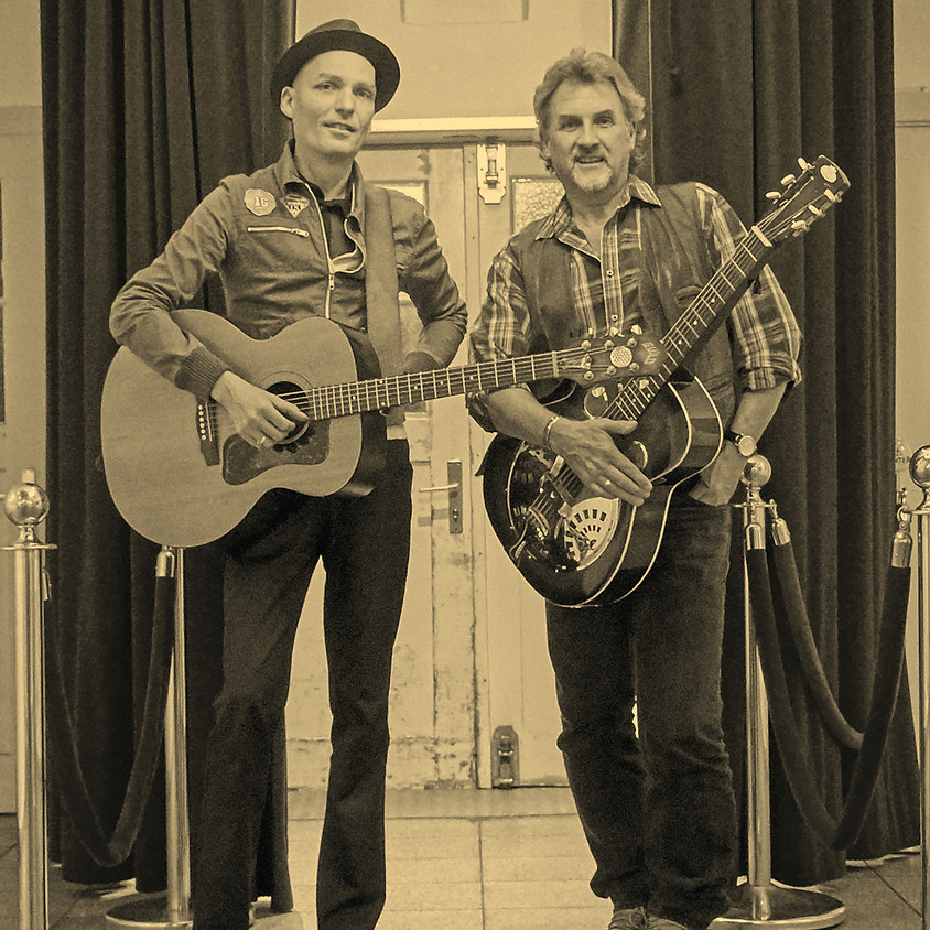 """ABGESAGT: bolando Sommerbühne: """"Acoustic Affairs""""  Country and more mit Michael Zumstein & Niels Kaiser"""