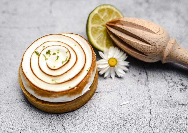 Tartelette citron meringue