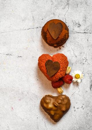 Pâtisserie saint-valentin - coeur