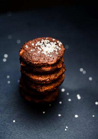 Cookie chocolat sel