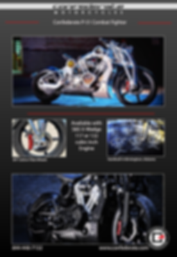Confederate Motorcycle, Exclusive Motorcycle, Hellcat Motorcycle, Combat Fighter Motorcycle,  Mohawk Motorcycle , American Motorcycle