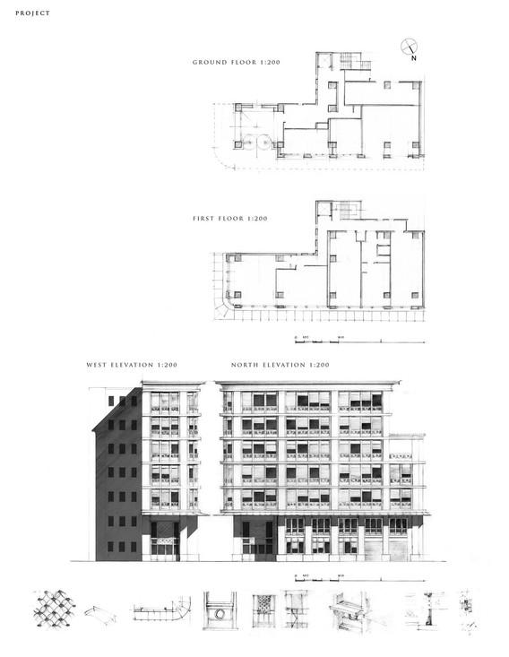 Recomposition des façades