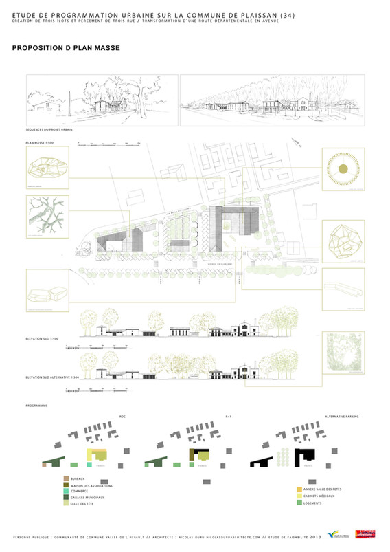Restructuration urbaine D - Création de 3 îlots
