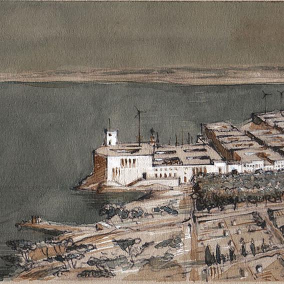 Le port de la citadelle I