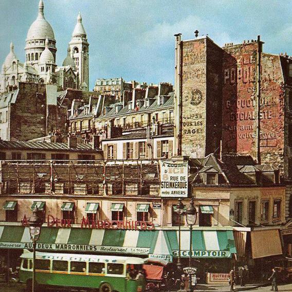 Les faubourgs de Paris
