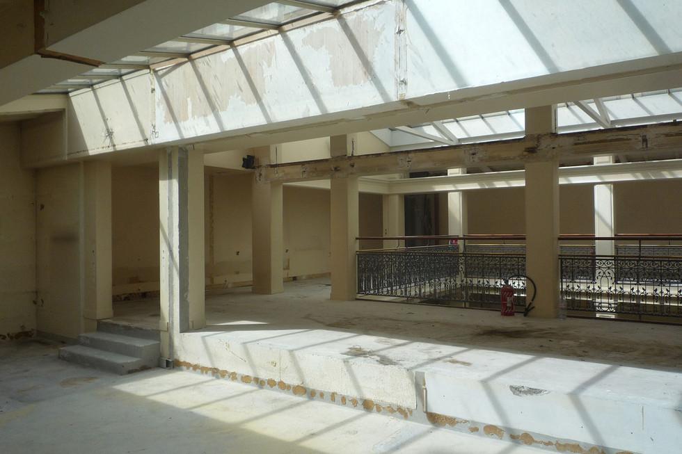 Le salon oriental - état avant les travaux