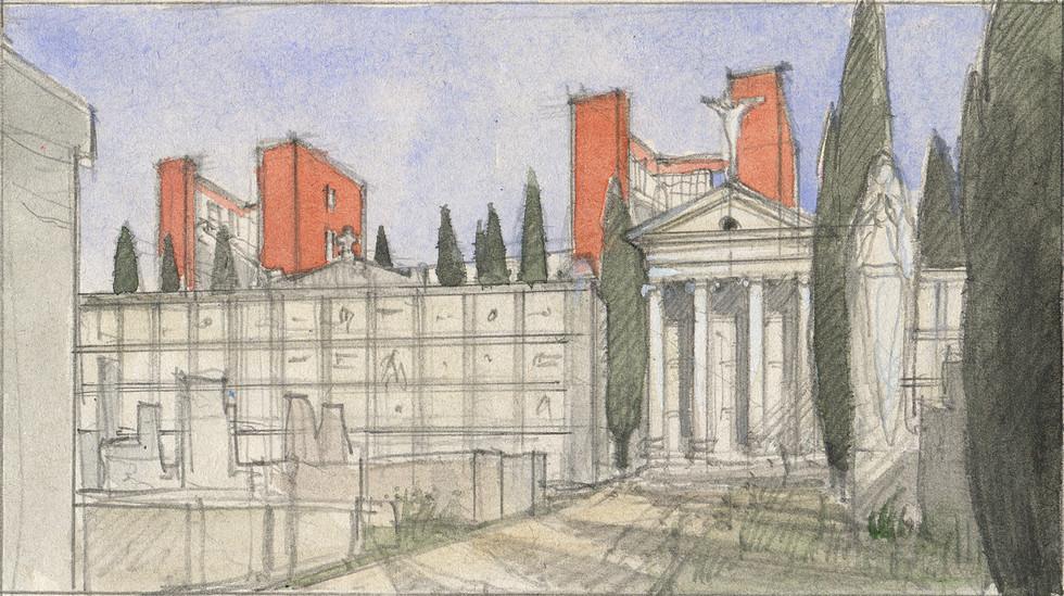 L'ancien cimetière